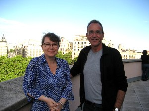 Marianne Gullberg in Barcelona