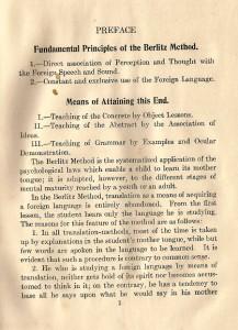 Berltiz preface