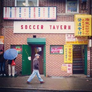 soccer tavern