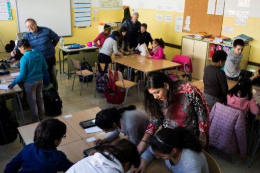 Joaquim Ruyra classroom El Mundo