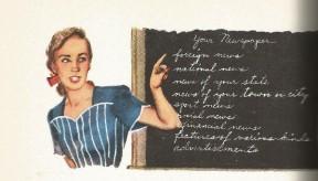 language arts blackboard